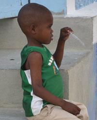 Boy at Ball game