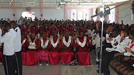 Choir in Church