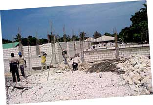 Rebuilding after the Haiti earthquake