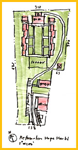 Architect's Rendering of Compound