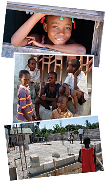 Children at Souls Winning Ministries' orphanage