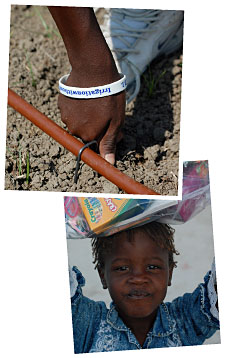 Irrigation Hose and Gifts