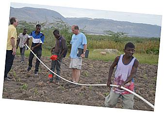 Irrigation Line