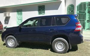 Jean's SUV