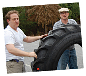 Loading Tractor Tire