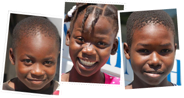 Three Haitian Orphans