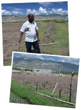 Vandalized Farm Land